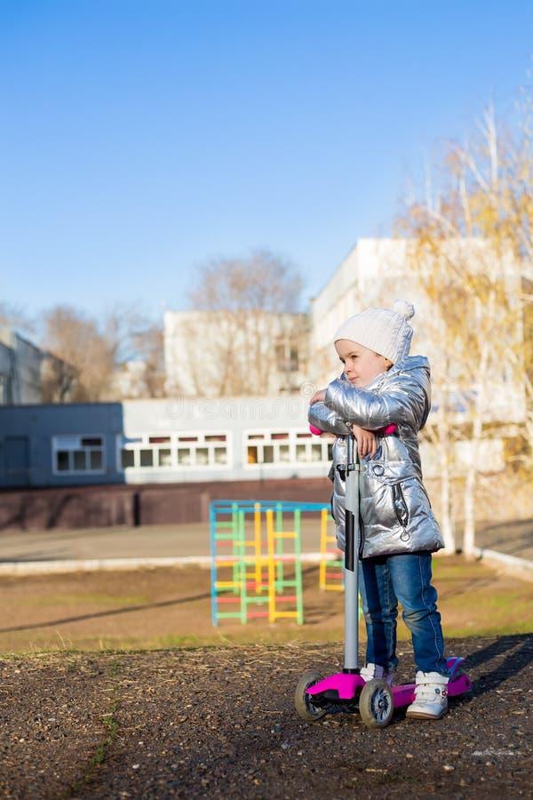 E 活跃休闲和户外运动孩子的 库存照片