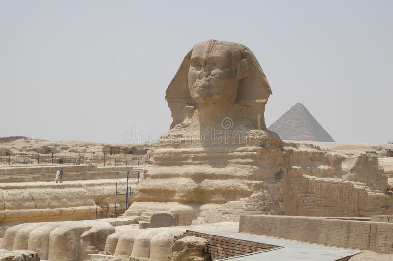 吉萨棉狮身人面象在埃及 免版税库存图片