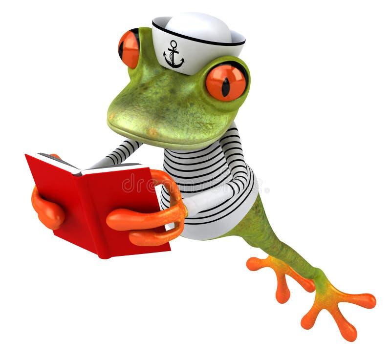 Download E ilustracji. Ilustracja złożonej z żaba, kumak, szkoła - 53793015