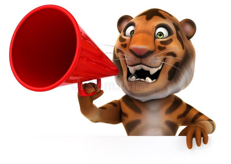 Download E ilustracji. Ilustracja złożonej z junior, tygrysy, wyrażenie - 53793105