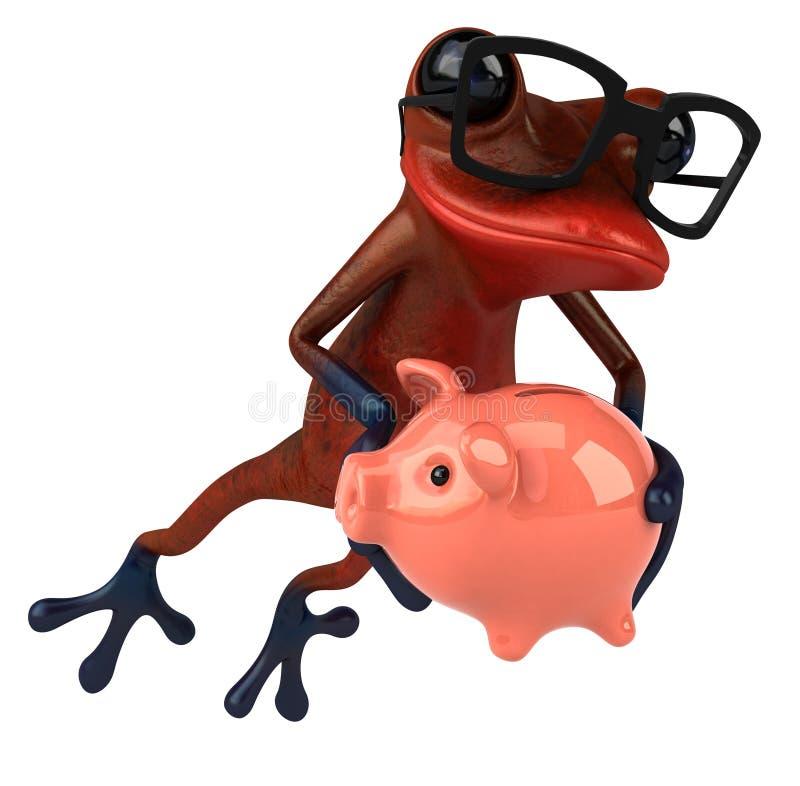 Download E ilustracji. Ilustracja złożonej z toes, świnia, czerwień - 53793204