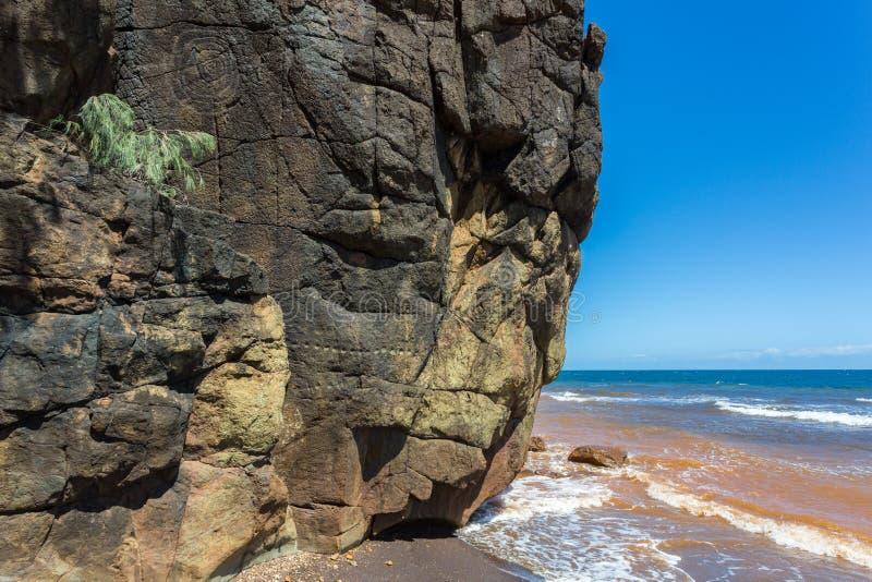 E aboriginal konst r royaltyfri fotografi