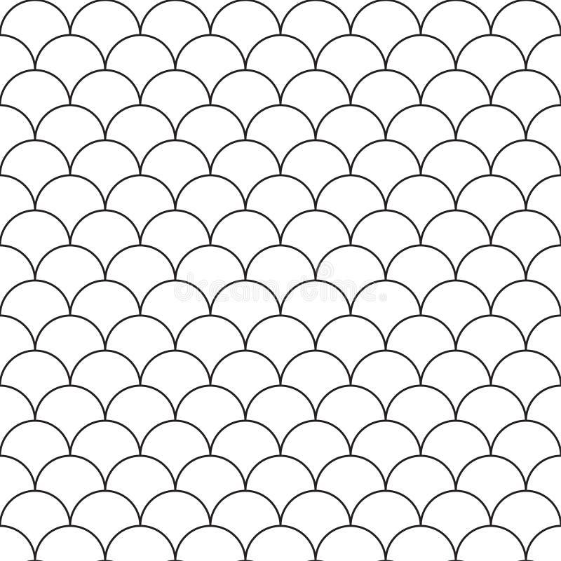 E abstrakt svart white f?r designillustrationtextur vektor illustrationer