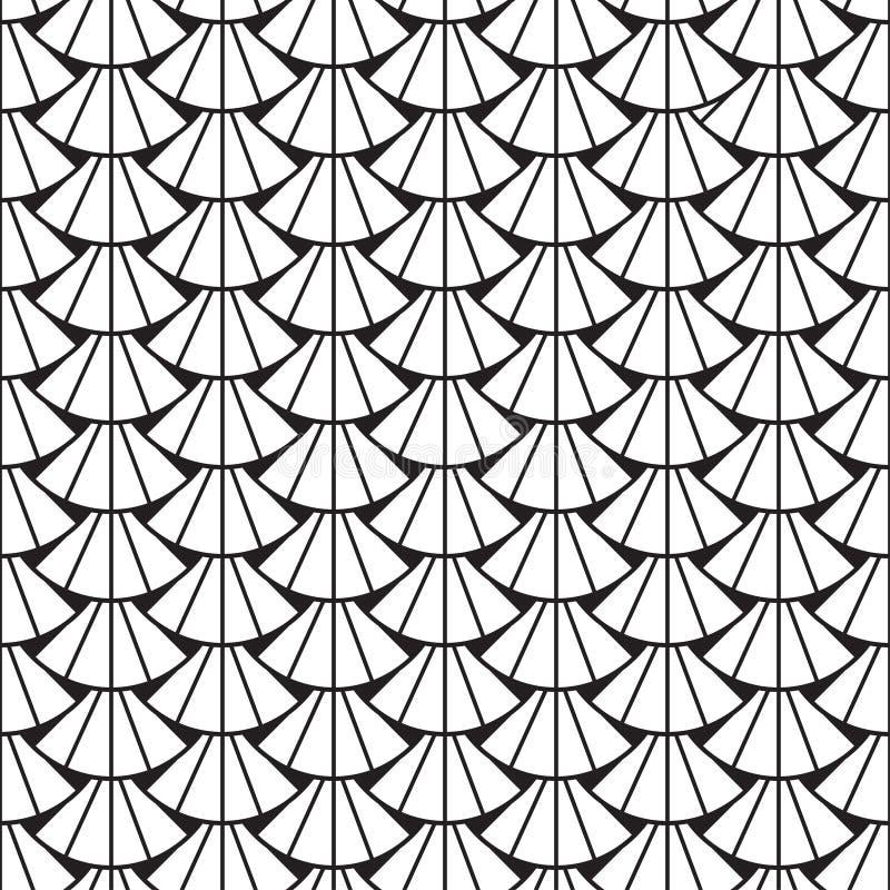 E abstrakt svart white f?r designillustrationtextur royaltyfri illustrationer