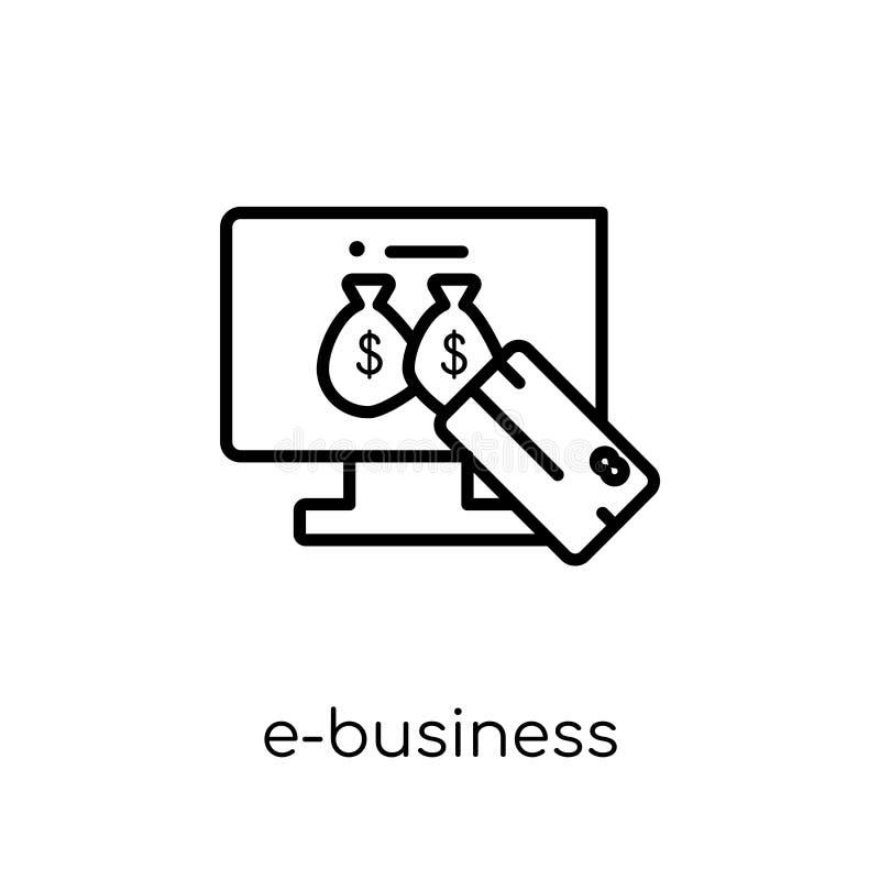 e-affär symbol  stock illustrationer