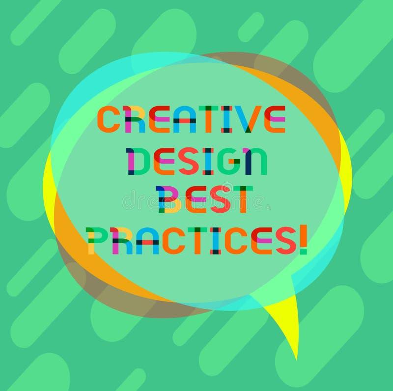 E Affärsidé för för perforanalysisceidéer för hög kreativitet bra mellanrum stock illustrationer