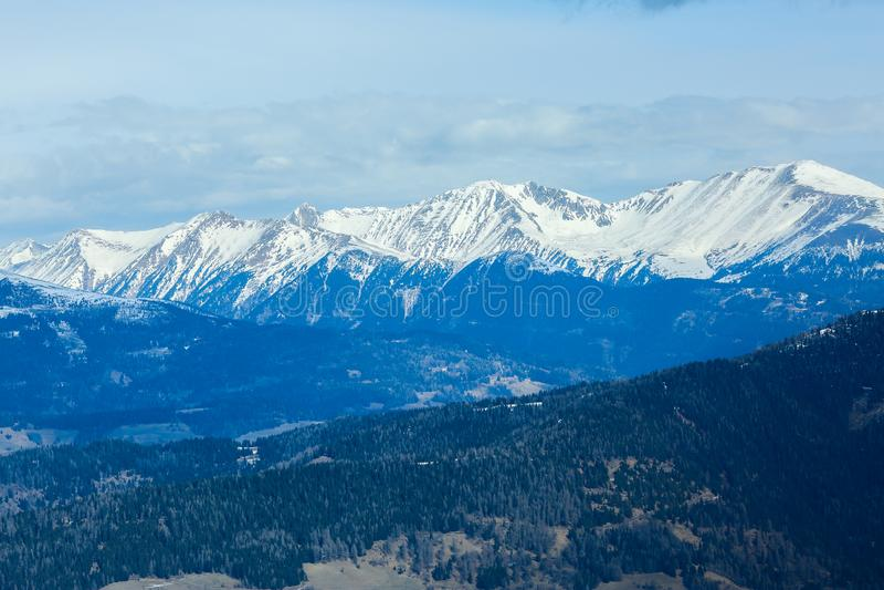 E alpen oostenrijk Murau r royalty-vrije stock foto's