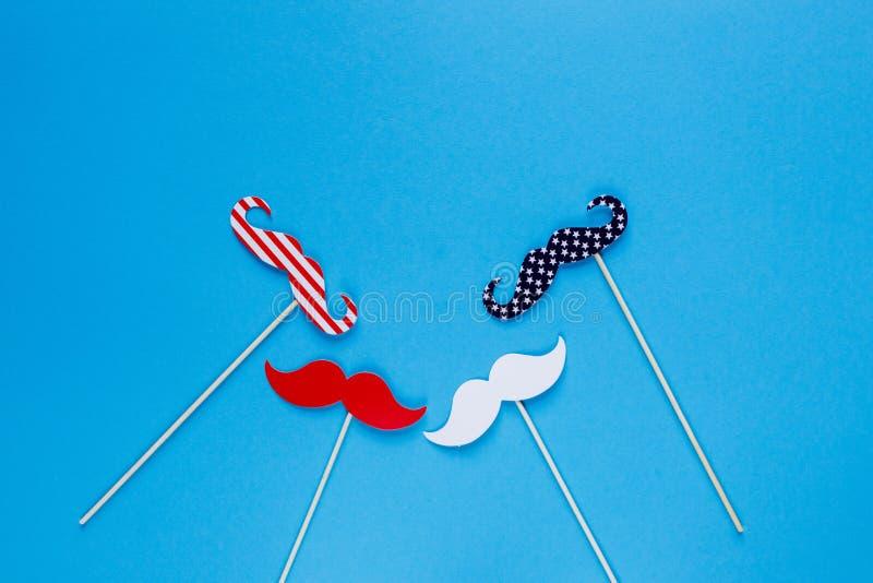 E E Amerikaanse vlagkleuren De achtergrond van de onafhankelijkheid Day royalty-vrije stock foto's