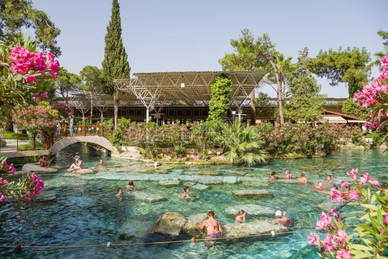 E Antieke Pool (Pool Cleopatra) royalty-vrije stock foto
