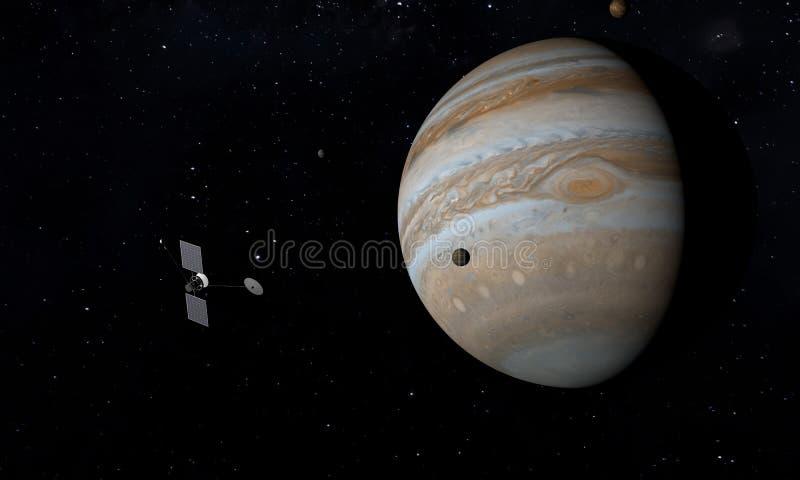 E Astronomie- und Wissenschaftskonzept Nahtloses Muster des Vektors Abbildung 3D vektor abbildung