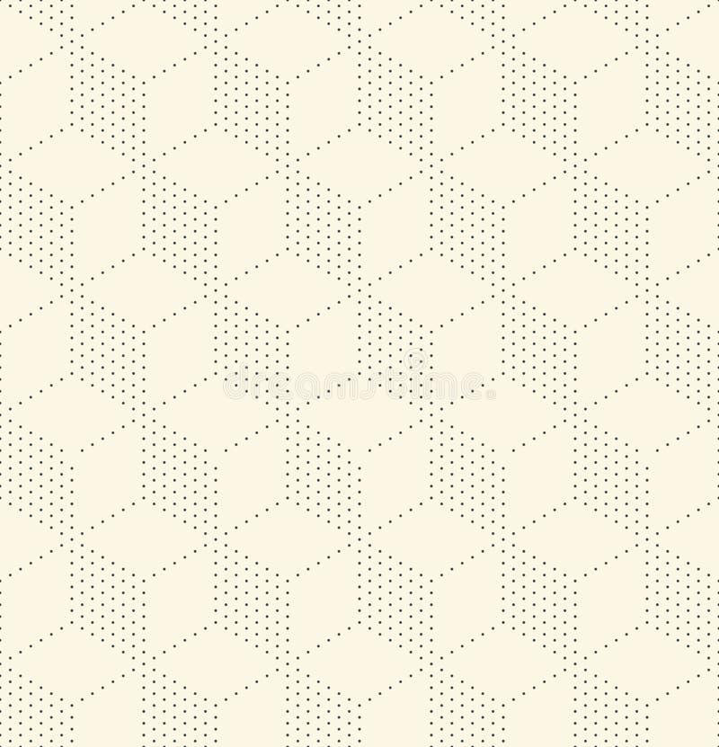 E BAC futuristico astratto della carta da imballaggio illustrazione vettoriale