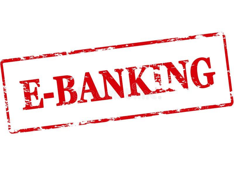 E-banking illustrazione di stock