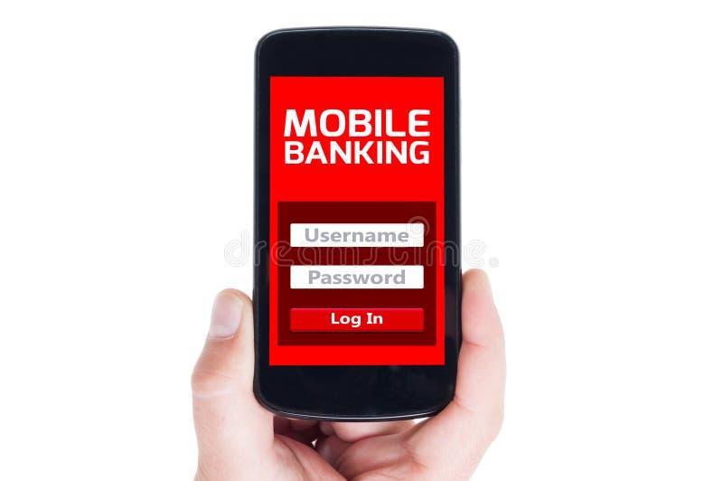 e-bankwezen royalty-vrije stock afbeelding