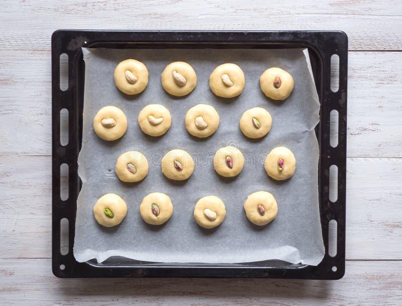 E E Biscuits de festin islamique d'EL Fitr image stock