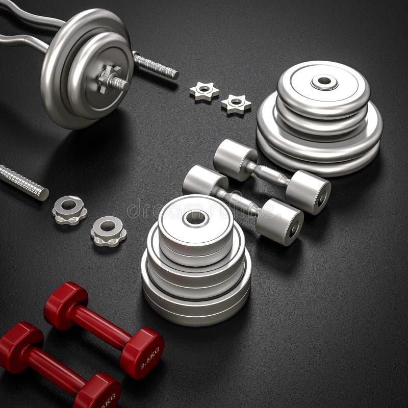 E bodybuilding libre illustration
