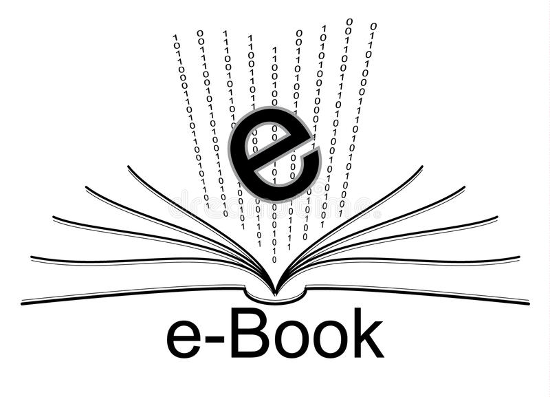 Download E-book stock vector. Illustration of word, paper, author - 16994760