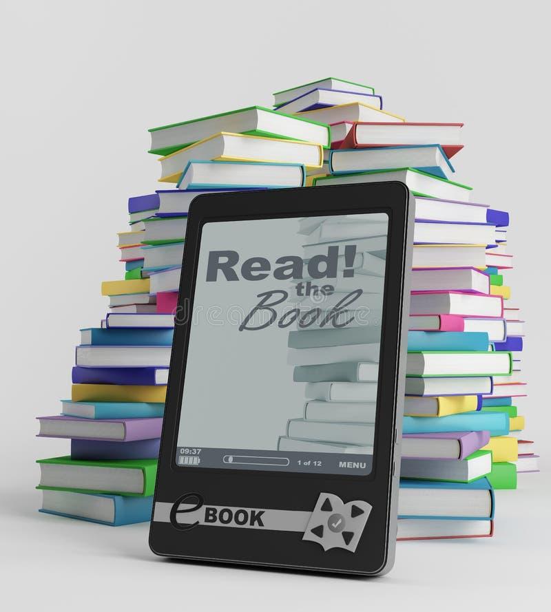 E-book Stock Image