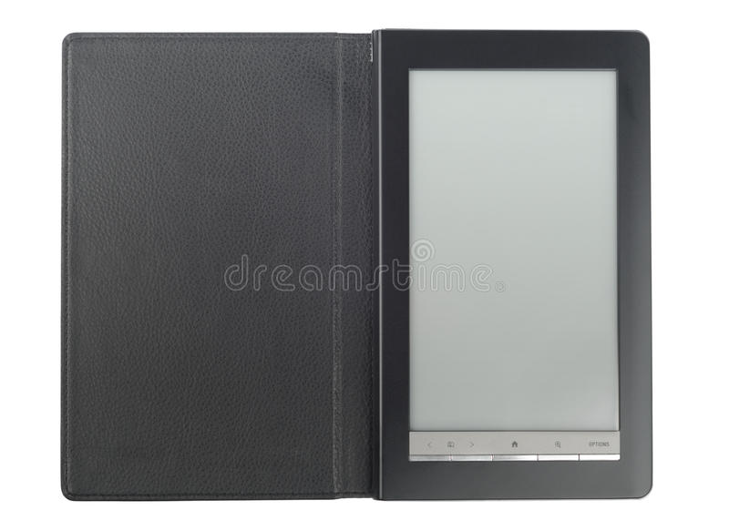 Download E-Book With Case Stock Image - Image: 17108651