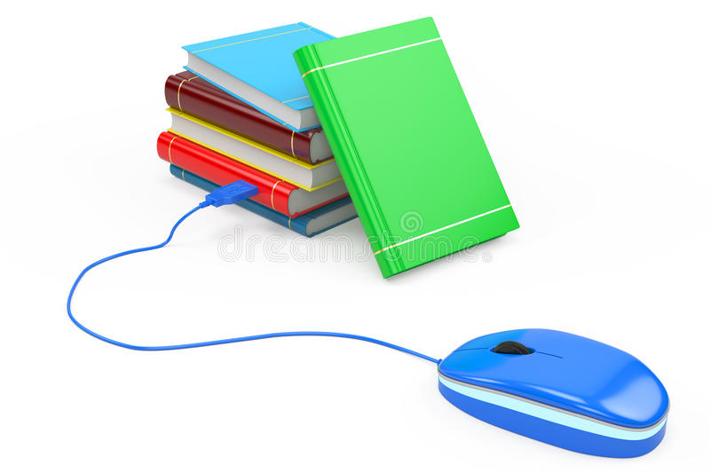 Download E-book concept stock illustration. Image of computer - 32436909