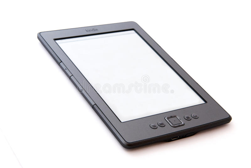 E-Book Reader Amazon Kindle royalty free stock images