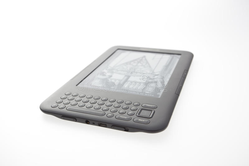 Download E-Book Reader Amazon Kindle 3 Editorial Photo - Image: 20844251