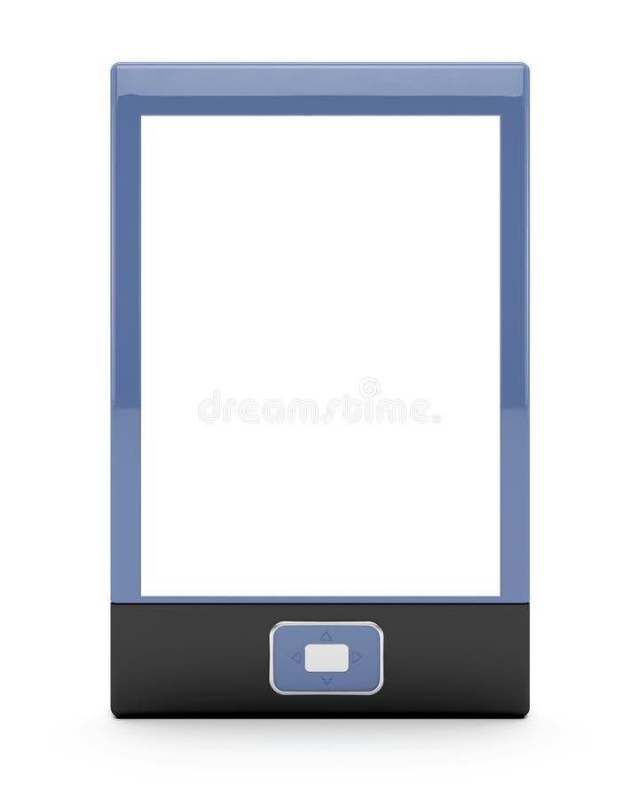 E-book Reader With Empty Screen Stock Photo