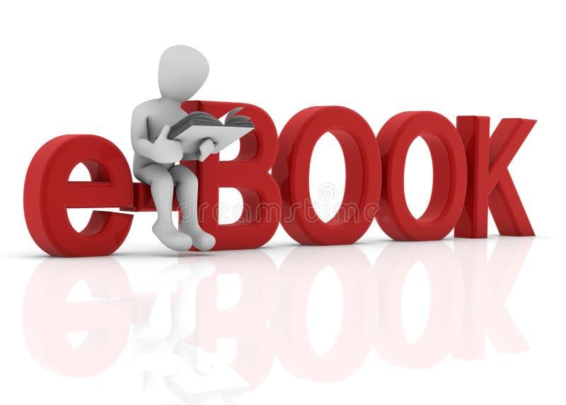E-Buch lizenzfreie abbildung