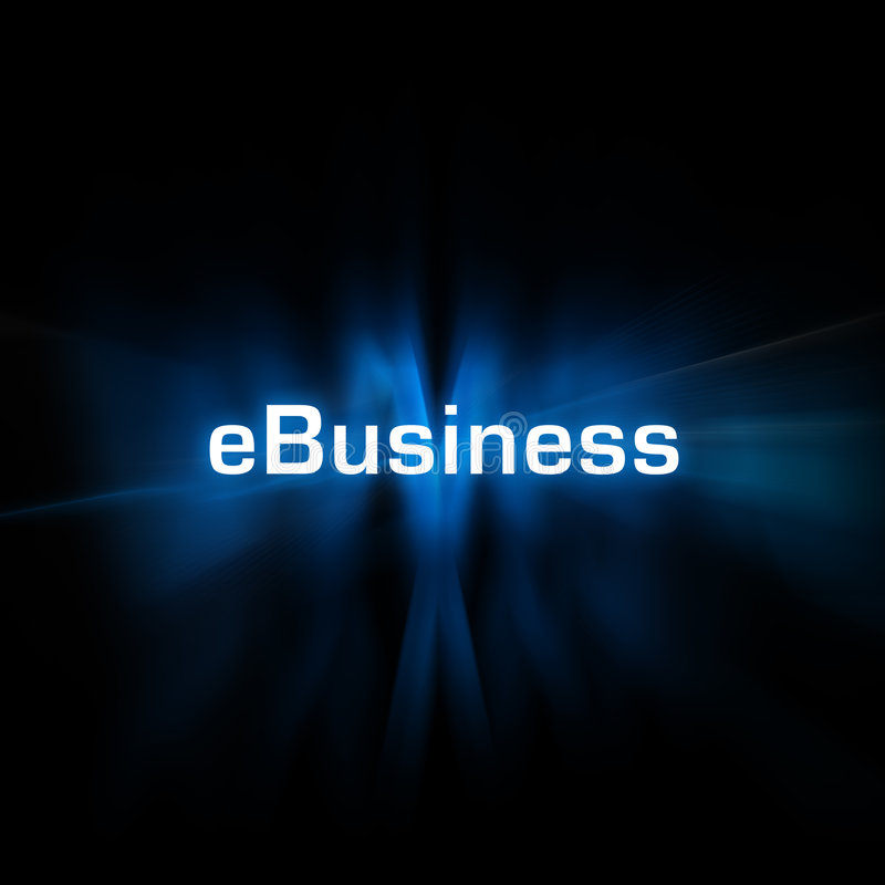 E-Business lizenzfreie abbildung