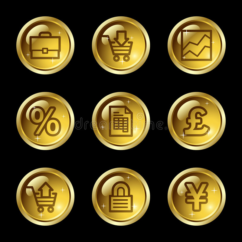 E-business web icons vector illustration