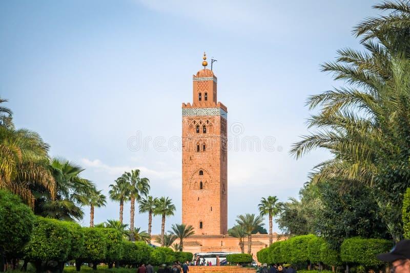 E C4marraquexe, Marrocos fotos de stock royalty free