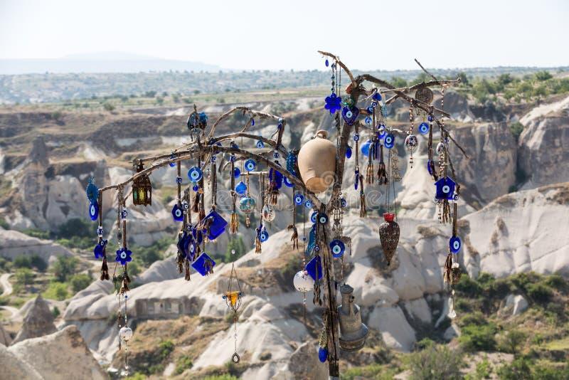 E Cappadocia fotografia stock libera da diritti