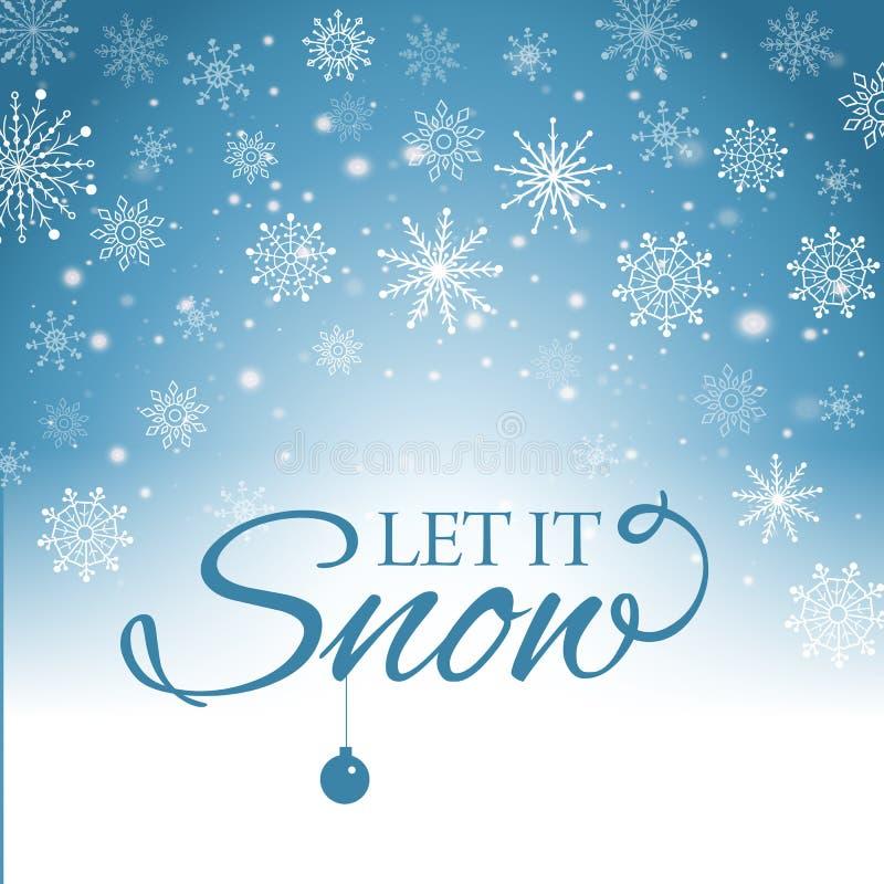 E-carta di Buon Natale e del buon anno Illustrazione di vettore royalty illustrazione gratis