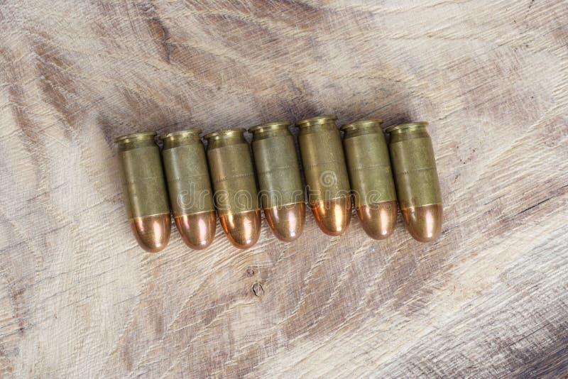 E cartouche de 45 calibres images stock