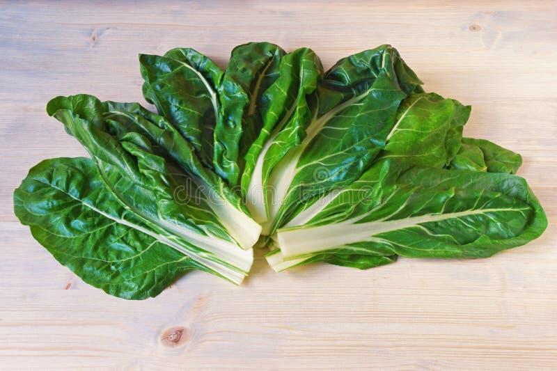 E Chard Blitva φύλλα - δημοφιλή φυλλώδη λαχανικά στοκ φωτογραφία με δικαίωμα ελεύθερης χρήσης