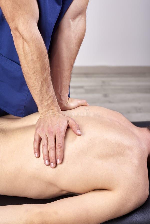 E Chiropractic, οστεοπάθεια, χειρωνακτική θεραπεία, acupressure στοκ φωτογραφία με δικαίωμα ελεύθερης χρήσης