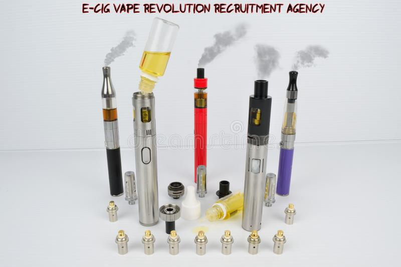 E-Cig Vape Pen Revolution Recruitment Agency Stock
