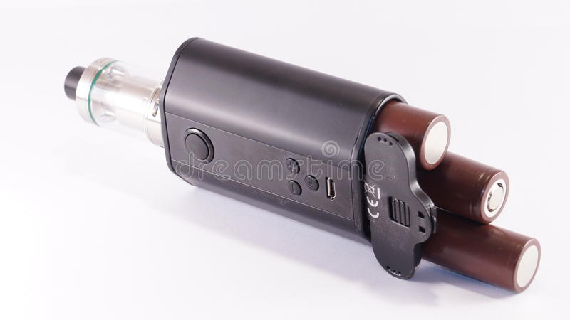 E-cigarette images stock