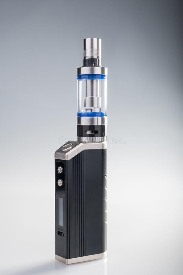 E-cigarette box mod royalty free stock photos