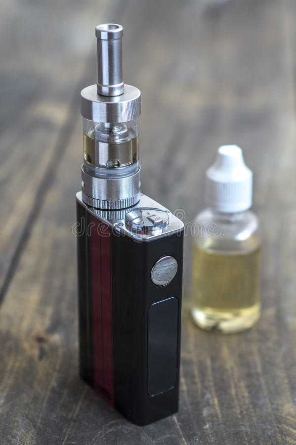 E-cigarette or vaping device stock photos