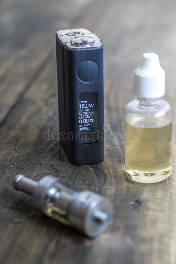 E-cigarette or vaping device royalty free stock photography