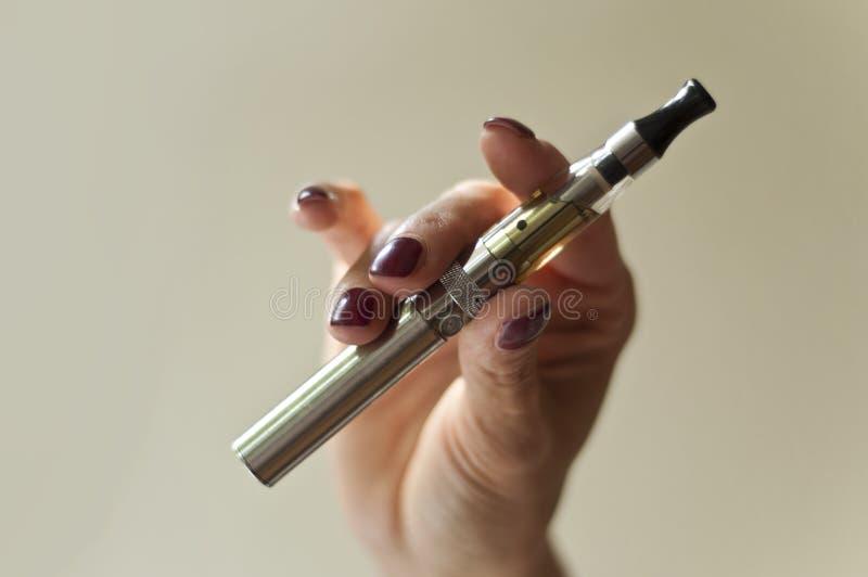 E-cigarette stock images