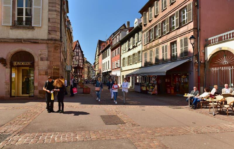 E Colmar, France photographie stock