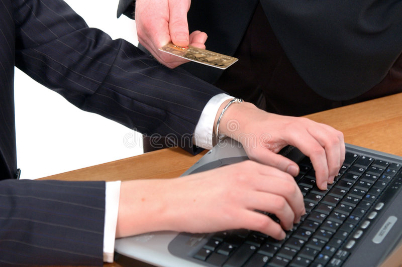 Download E-commerce stock photo. Image of businesswoman, card, smug - 101736