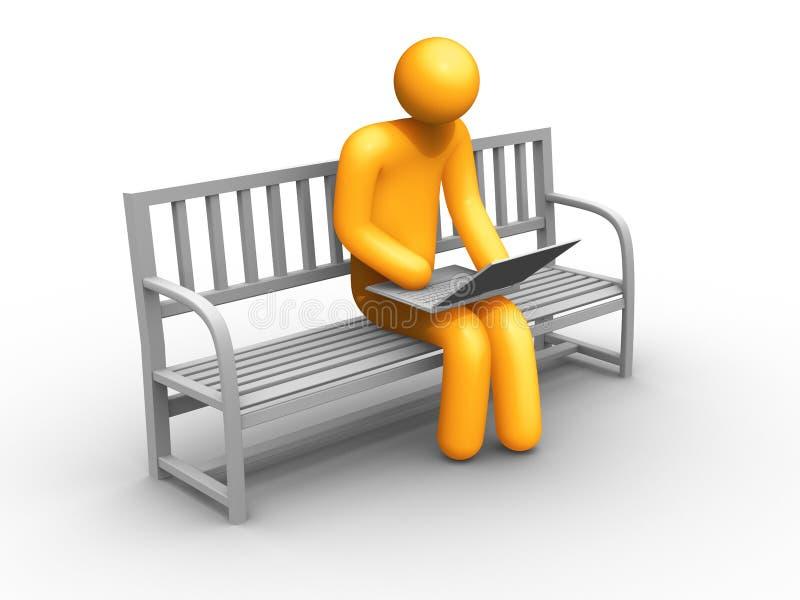 Download E-commerce stock illustration. Image of businessman, buyer - 19628245