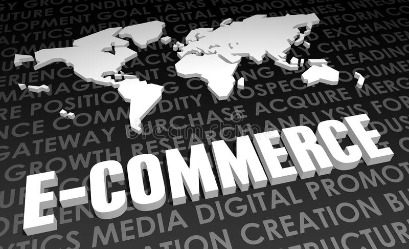 E-Commerce lizenzfreie abbildung
