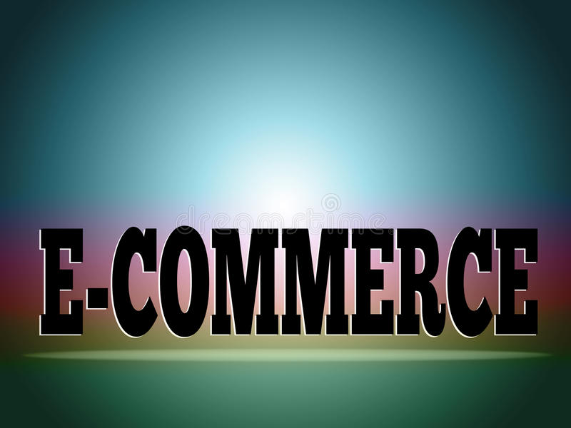 Download E-commerce background stock illustration. Image of background - 12911951