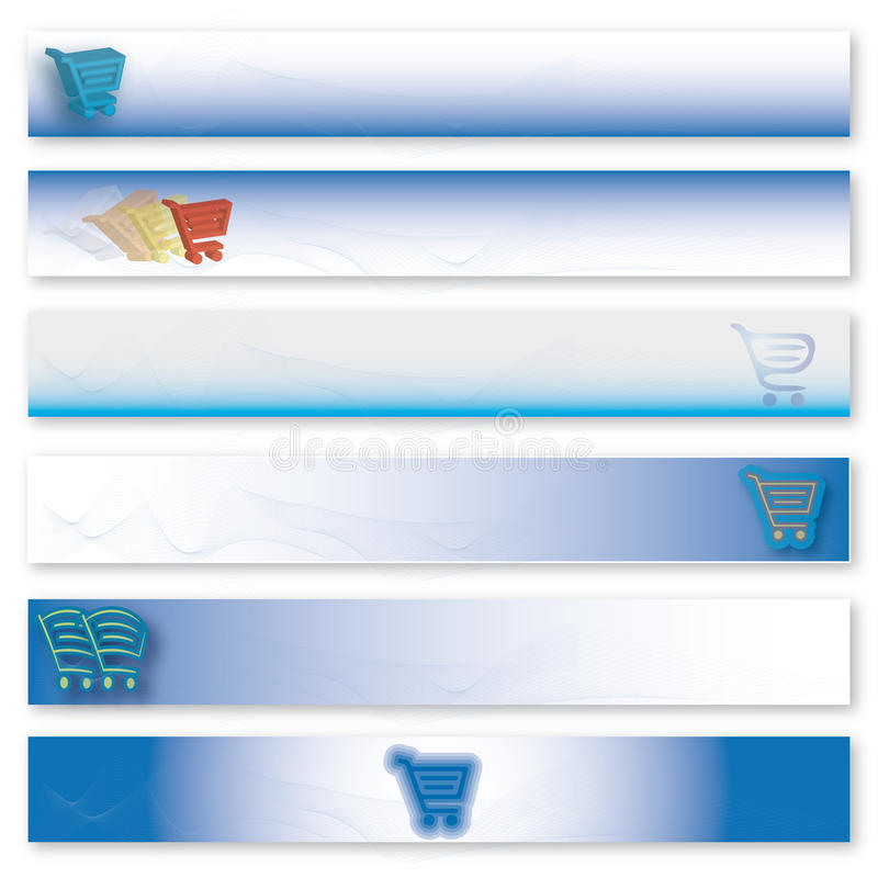 Download E-commerce header stock vector. Illustration of ecommerce - 10321462