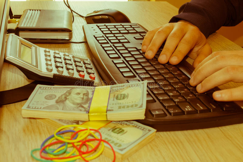 E commerce ideas to make money. Make money easy online stock photos