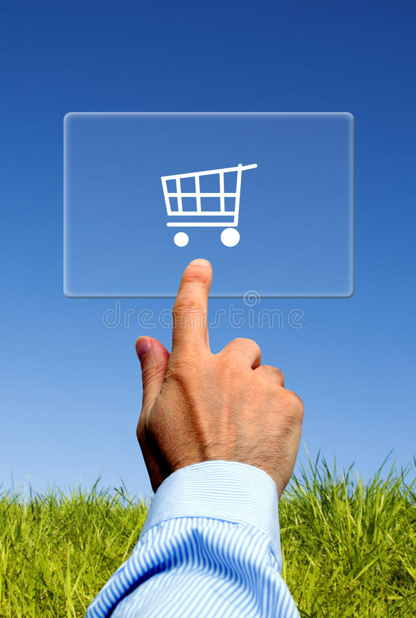 E-commerce Solutions Royalty Free Stock Photos
