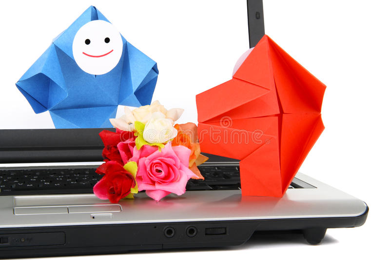 Download E-communication And E-commerce Metaphor Stock Image - Image: 25612959